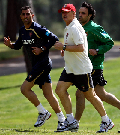 Betis: Ricardo entrena al lado de Scolari