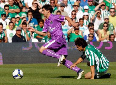 Betis: El Betis - Valladolid de la 08-09 'descendió' al Betis