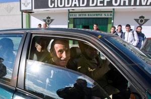 Betis: Lopera abandona la ciudad deportiva tras una visita reciente