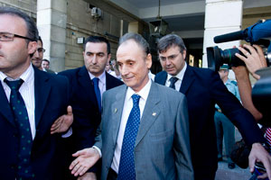 Betis: Lopera sale de los Juzgados tras una comparecencia reciente