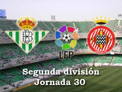 Betis: Real Betis - Gerona a las 16 horas en el Ruiz de Lopera