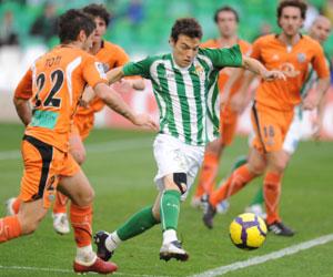 Betis: Rodri contra el Salamanca la pasada temporada