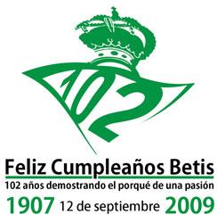 Betis: El usuario de BÉTICOS Recontrabético, ha hecho este logo