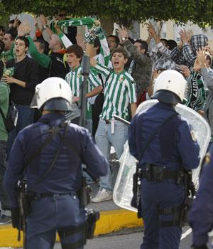 En la primera vuelta hubo disturbios