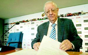Alfredo Flórez, del Comité de Competición