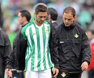 Arzu se retiró el pasado domingo lesionado