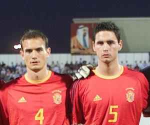 Betis: Melli y Carlos García posan en la formación española de la final del Mundial Juvenil de Emiratos Árabes