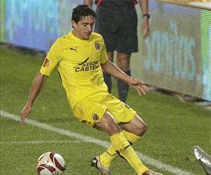 Betis: Pereira en un partido de Europa League de esta temporada con el Villarreal