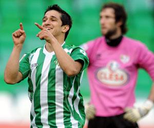 Betis: Pereira, en el encuentro frente al Hércules