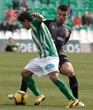Betis: Pereira, en el partido ante el Hércules