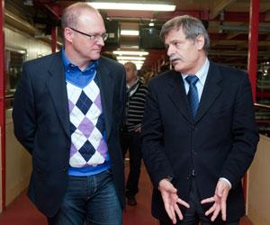 Mel y Bosch, en una imagen reciente