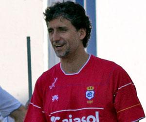 Betis: Pablo Alfaro dirige un entrenamiento del Recre