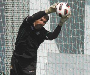 Betis: Iñaki Goitia es uno de los dos porteros menos goleados de Segunda división