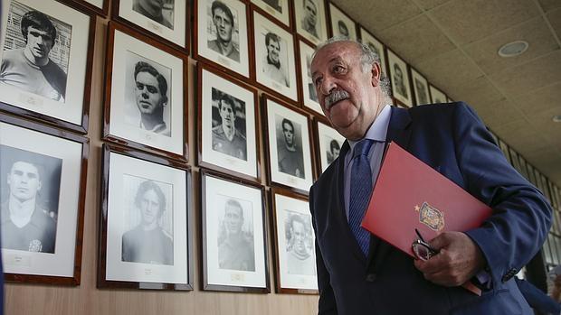 Del Bosque, en su comparecencia del martes en Las Rozas