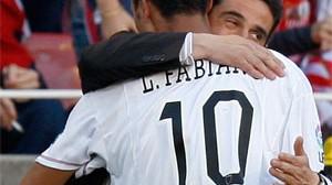 """Luis Fabiano: """"No puede ser que me cambien todos los partidos"""""""