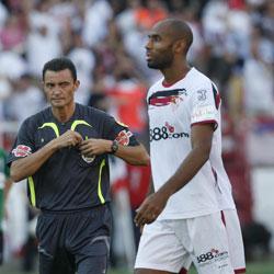 Sevilla FC: Kanoute al lado de Mejuto