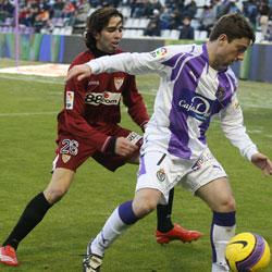Sevilla FC: imagen del partido de ida en Zorrilla