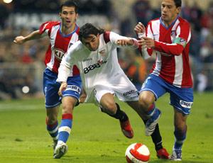 Sevilla FC: El joven Crespo jugó su segundo partido consecutivo como titular