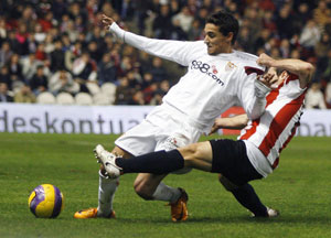 Sevilla FC: imagen del partido de ida