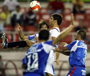 Sevilla FC: Imagen del encuentro Sevilla-Getafe de la primera vuelta de Liga