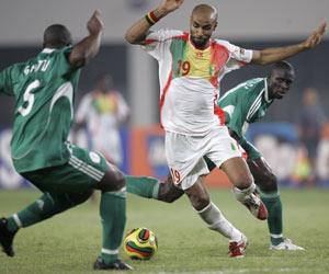 Sevilla FC: Kanouté con la camiseta de Mali