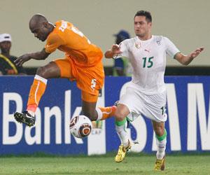 Sevilla FC: Zokora defiende la camiseta de Costa de Marfil durante el Mundial