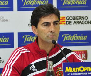 El técnico del Real Zaragoza, José Aurelio Gay