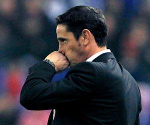 Manolo Jiménez, técnico del Zaragoza