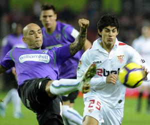 Sevilla FC: Imagen del Sevilla - Málaga de Liga de la pasada campaña