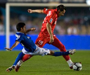 Sevilla FC: Imagen del Xerez-Sevilla de la 2009-10