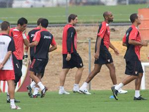 Los jugadores sevillistas regresarán a los entrenamientos el viernes