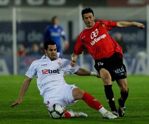 Sevilla FC: El último precedente en Son Moix fue un 1-3 para el Sevilla