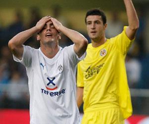 Alfaro ha madurado como futbolista en sus dos años en Tenerife