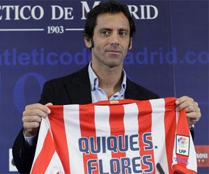 Sevilla FC: Quique Flores en su presentación como técnico colchonero