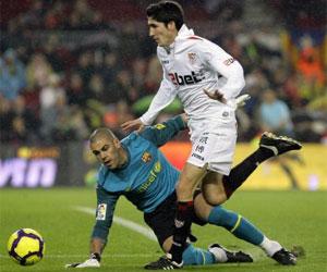 Sevilla FC: José Carlos, último goleador sevillista de falta directa, antes que Rakitic