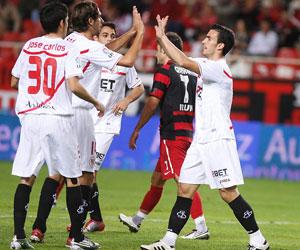 Sevilla FC: El partido de ida finalizó con 0-4 para los sevillistas