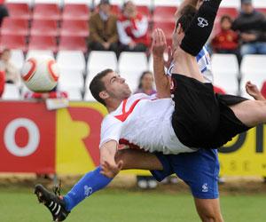 Sevilla FC: Rodri marcó el segundo gol del filial ante el Lorca
