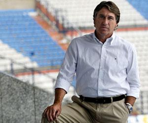 El técnico del Hércules, Esteban Vigo