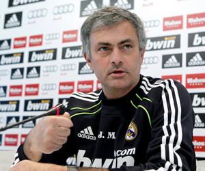Mourinho, este mediodía en sala de prensa