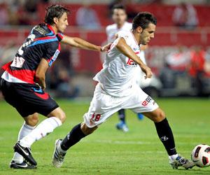 Sevilla FC: El Sevilla-Racing de la primera vuelta terminó con 1-1