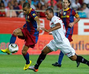 La victoria ante el Barça ha dado muchos ánimos a los sevillistas