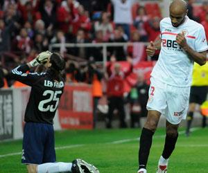 Sevilla FC: Kanouté, tras batir a Leo Franco desde el punto de penalti