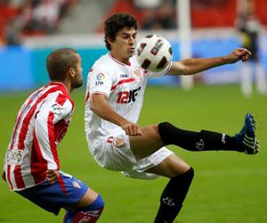 Sevilla FC: A esta hora, Perotti no está descartado para jugar frente al Madrid