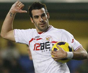 Sevilla: Negredo marcó 20 goles en Liga
