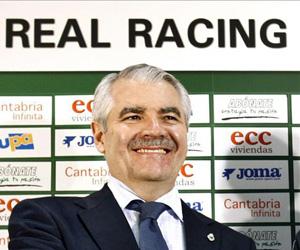 Sevilla: Pernía es el presidente del Racing