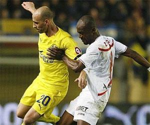 Sevilla: Zokora jugó la pasada semana ante el Villarreal