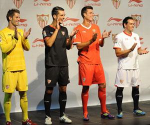 Sevilla: El 27 de julio fueron presentadas las camisetas de Li Ning