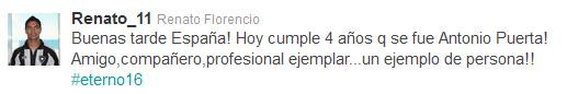 Sevilla FC: Renato compartió vestuario con Puerta