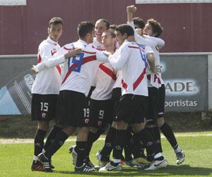 Sevilla: El filial remontó en los minutos finales