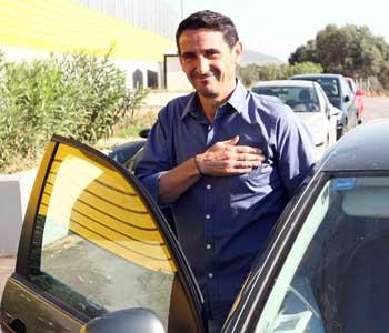 Manolo Jiménez, en su despedida